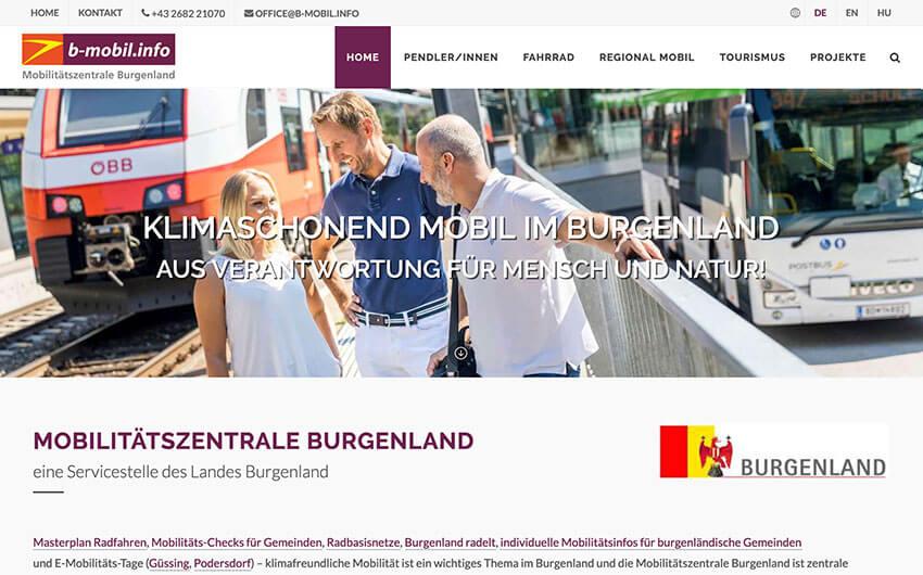 Mobilitätszentrale Burgenland